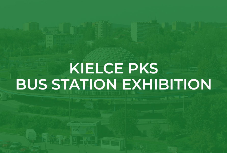 Kielce PKS bus stadion exhibition